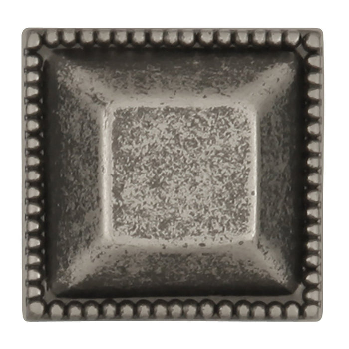 Hickory Hardware H-P3503-BNV Traditional/Altair Black Nickel Vibed Square Knob