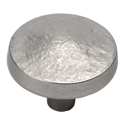 Hickory Hardware H-P3564-FN Designed for Value/Bedrock Flat Nickel Round Knob - Knob Depot