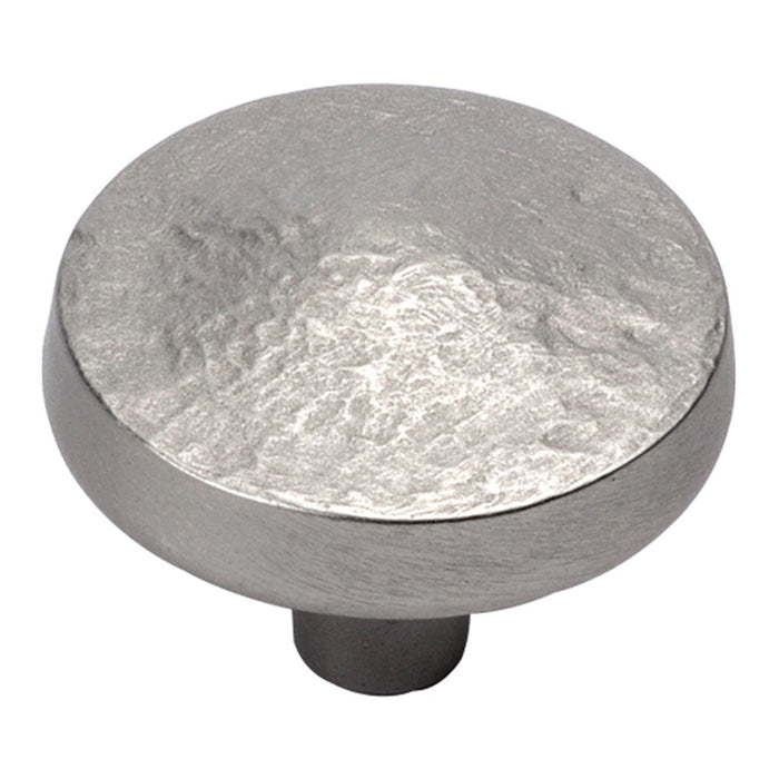 Hickory Hardware H-P3564-FN Designed for Value/Bedrock Flat Nickel Round Knob - KnobDepot.com