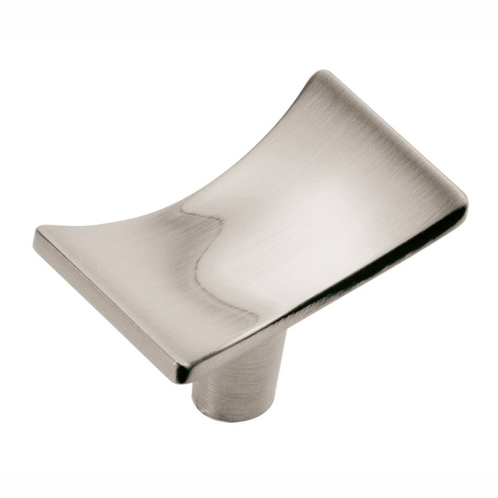 Hickory Hardware H-P3590-SN Designed for Value/Kite Satin Nickel Rectangular Knob - Knob Depot