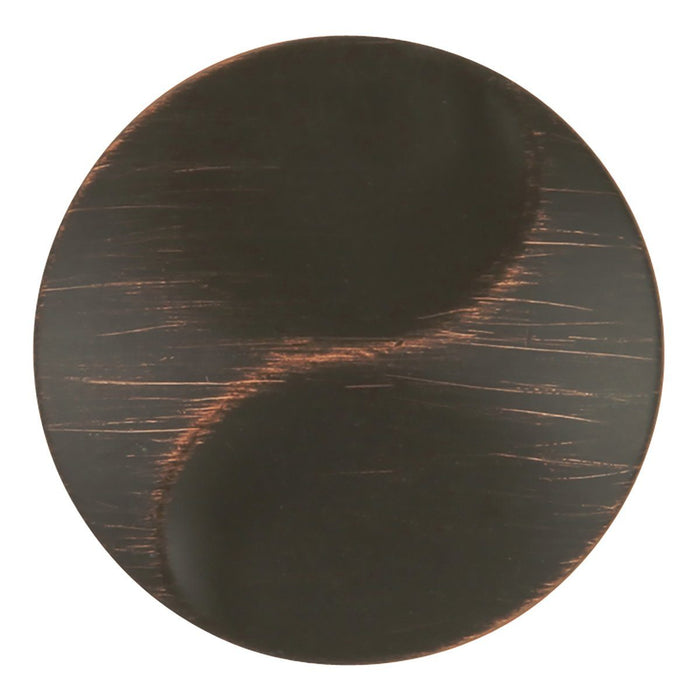 Hickory Hardware H-P3592-VB Designed for Value/Surge Vintage Bronze Round Knob - Knob Depot