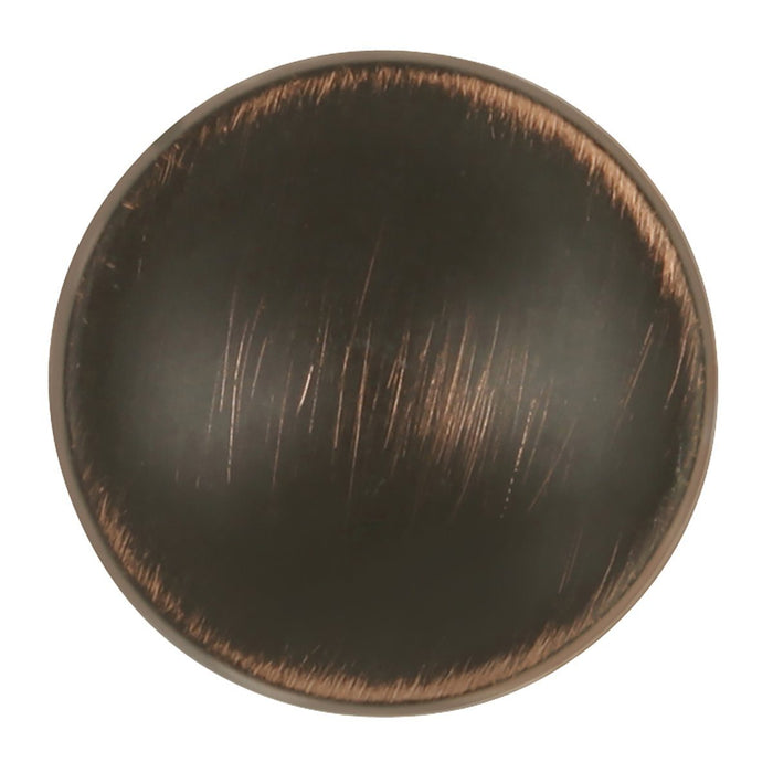Hickory Hardware H-P3594-VB Designed for Value/Arc Vintage Bronze Round Knob - Knob Depot