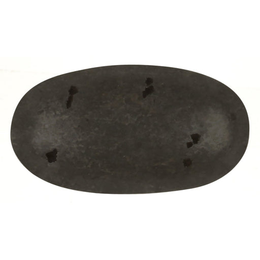 Hickory Hardware H-P3671-BI Casual/Carbonite Black Iron Oval Knob - KnobDepot.com