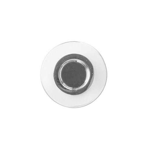 Hickory Hardware H-P3708-CACH Contemporary/Midway Crysacrylic & Chrome Round Knob - Knob Depot