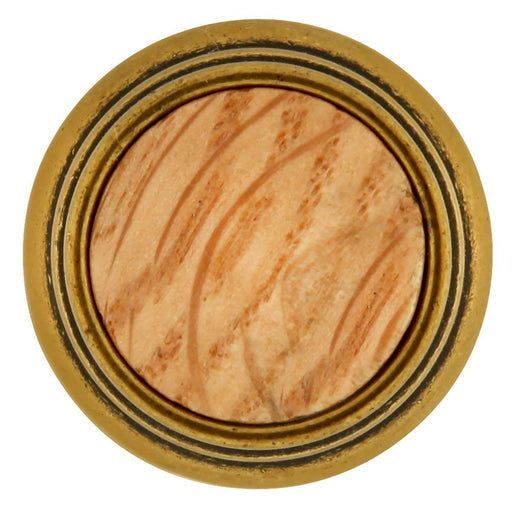 Hickory Hardware H-P415-OAK Traditional/Woodgrain Oak Round Knob - Knob Depot