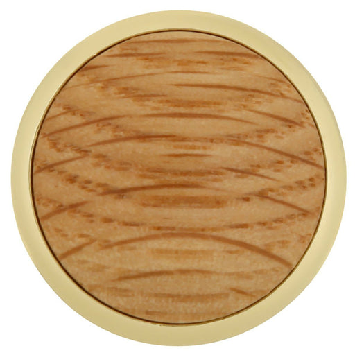 Hickory Hardware H-P427-OAK Traditional/Woodgrain Oak Round Knob - Knob Depot