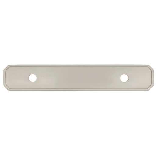 Hickory Hardware H-P513-SN Traditional/Silverado Satin Nickel BackPlate - KnobDepot.com