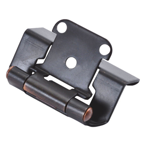 Hickory Hardware H-P5710F-VB Functional/Self-Closing Semi-Concealed Vintage Bronze Hinge