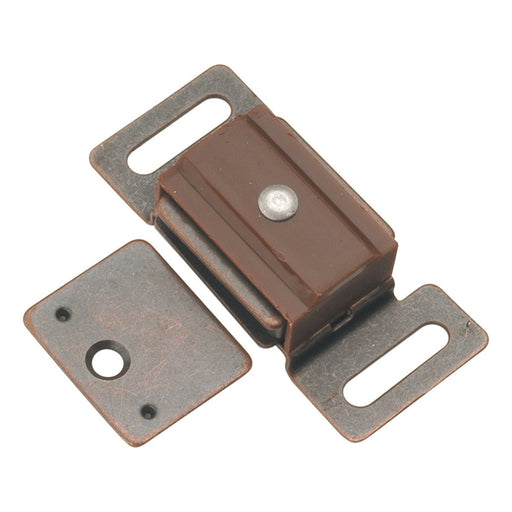 Hickory Hardware H-P649-STB Functional/Catches Statuary Bronze Catch or Latch - KnobDepot.com