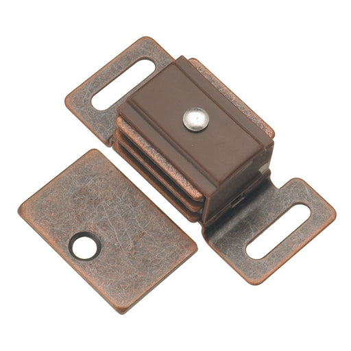 Hickory Hardware H-P651-STB Functional/Catches Statuary Bronze Catch or Latch - KnobDepot.com