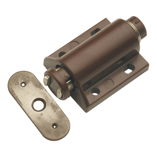 Hickory Hardware H-P655-STB Functional/Catches Statuary Bronze Catch or Latch - KnobDepot.com