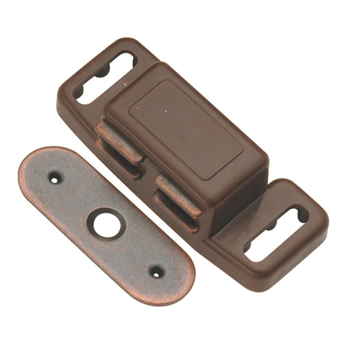 Hickory Hardware H-P659-STB Functional/Catches Statuary Bronze Catch or Latch - KnobDepot.com