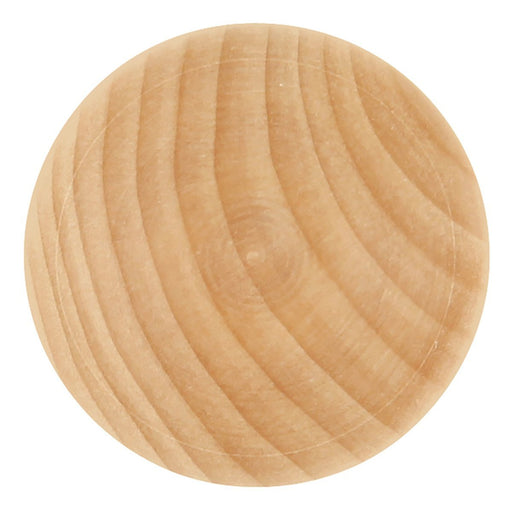 Hickory Hardware H-P684-UW Traditional/Natural Woodcraft Unfinished Wood Round Knob - KnobDepot.com