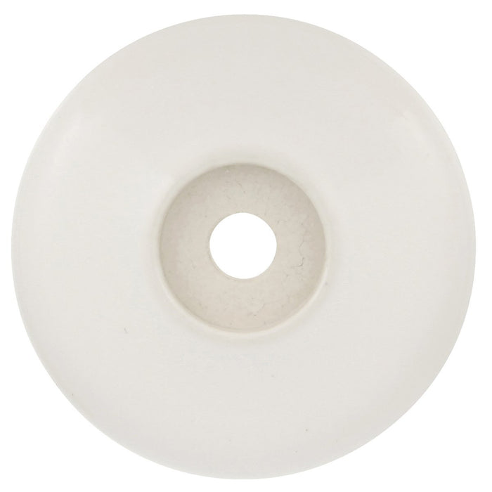 Hickory Hardware H-P69-W Casual/English Cozy White BackPlate - Knob Depot