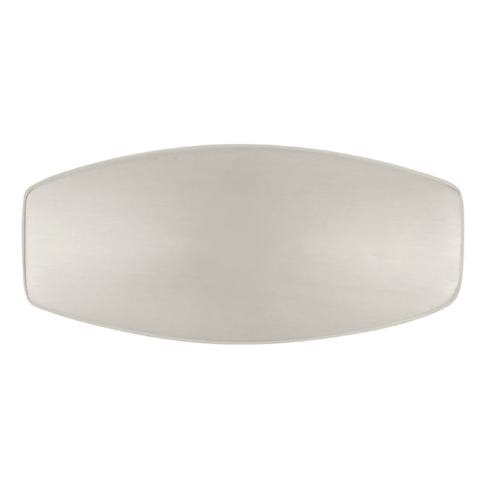 Hickory Hardware H-P7523-SN Contemporary/Metropolis Satin Nickel Rectangular Knob - Knob Depot