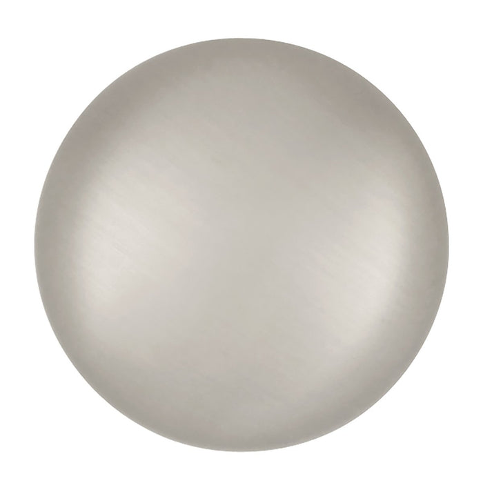 Hickory Hardware H-P770-SN Traditional/Cottage Satin Nickel Round Knob - Knob Depot