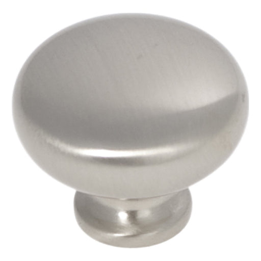 Hickory Hardware H-P771-SN Traditional/Cottage Satin Nickel Round Knob - Knob Depot