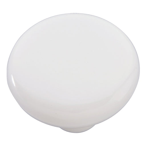 Hickory Hardware H-P814-W Casual/Midway White Round Knob - KnobDepot.com