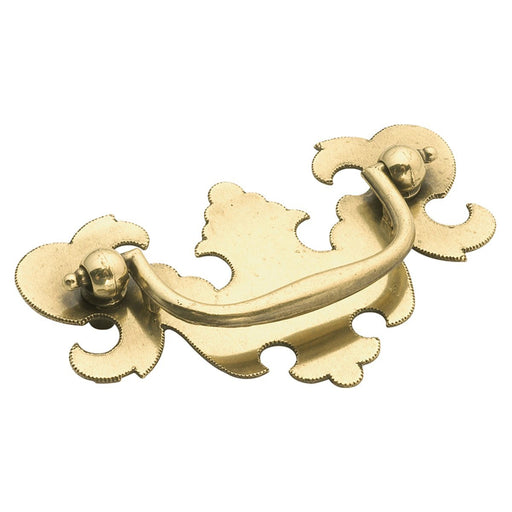Hickory Hardware H-P8257-LP Traditional/Manor House Lancaster Hand Polished Drop Pull - KnobDepot.com