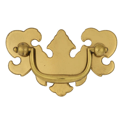 Hickory Hardware H-P8258-LP Traditional/Manor House Lancaster Hand Polished Drop Pull - Knob Depot