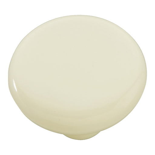 Hickory Hardware H-P865-LAD Casual/Midway Light Almond Round Knob - KnobDepot.com