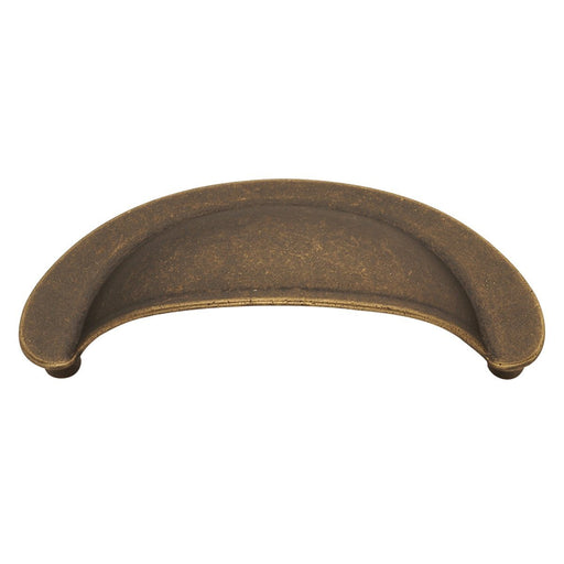 Hickory Hardware H-PA1021-WOA Casual/Oxford Antique Windover Antique Cup Pull
