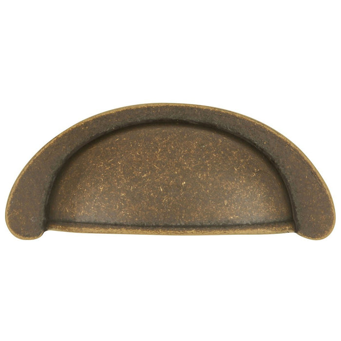 Hickory Hardware H-PA1022-WOA Casual/Oxford Antique Windover Antique Cup Pull - Knob Depot
