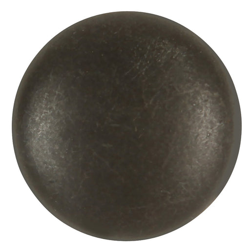 Hickory Hardware H-PA1218-RI Casual/Manchester Rustic Iron Round Knob - KnobDepot.com