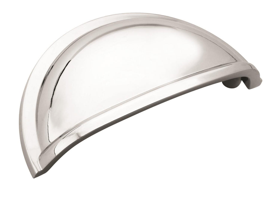 Amerock A-BP53010-26 Allison Polished Chrome Cup Pull - KnobDepot.com