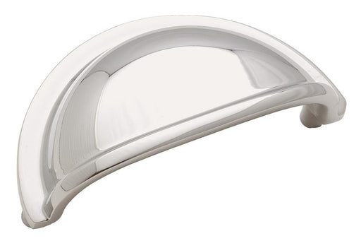 Amerock A-BP4235-26 Advantage Solid Brass Polished Chrome Cup Pull