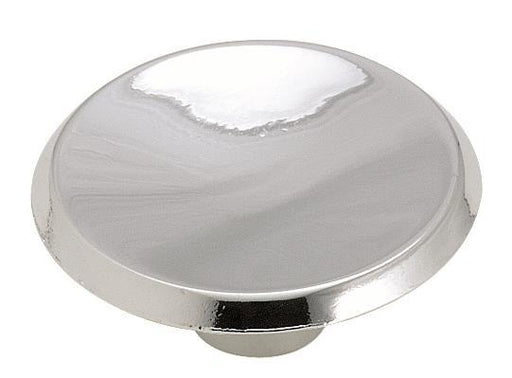 Amerock A-BP341326 Allison Polished Chrome Round Knob - Knob Depot