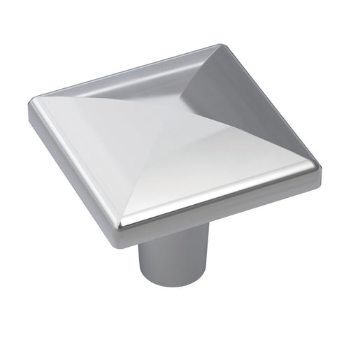 Amerock A-BP2939826 Extensity Polished Chrome Square Knob - Knob Depot