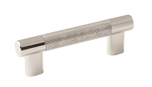 Amerock A-BP36557PNSS Esquire  Polished Nickel/Stainless Steel Standard Pull - KnobDepot.com