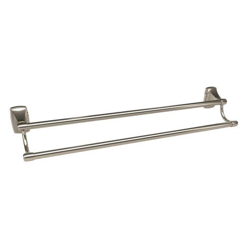 Amerock A-BH26505PN Clarendon Polished Nickel Double Towel Bar - Knob Depot