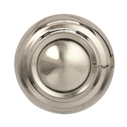Amerock A-BP538072PN Kane Polished Nickel Round Knob - Knob Depot