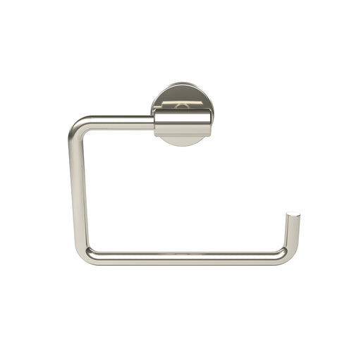 Amerock A-BH26541PSS Arrondi Polished Stainless Steel Towel Ring - Knob Depot