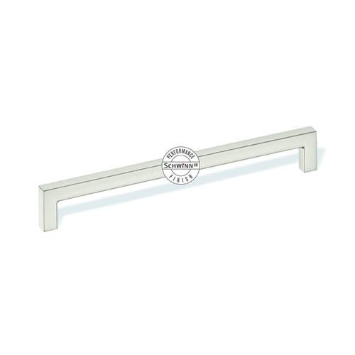 Schwinn S-59045 Square Bar Pulls ,  Schwinn/Anti-Microbial Finish Satin Nickel Anti-Microbial Anti-Microbial Bar Pull - KnobDepot.com