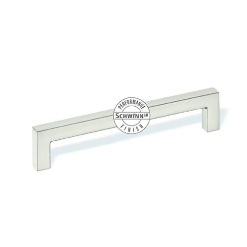Schwinn S-59046 Square Bar Pulls ,  Schwinn/Anti-Microbial Finish Satin Nickel Anti-Microbial Anti-Microbial Bar Pull - KnobDepot.com
