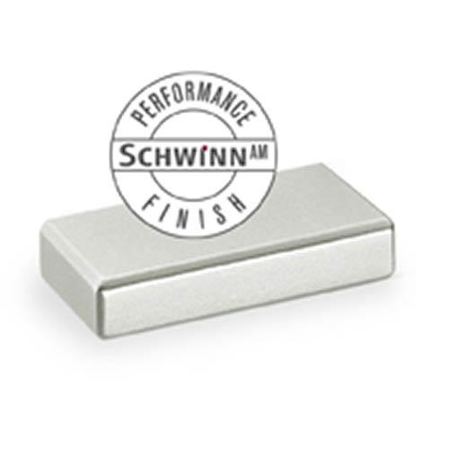 Schwinn S-59054 Contemporary Pulls ,  Schwinn/Anti-Microbial Finish Satin Nickel Anti-Microbial Contemporary Pull - KnobDepot.com