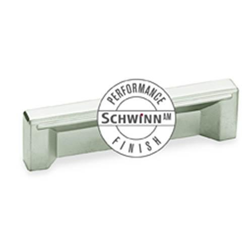 Schwinn S-59055 Contemporary Pulls ,  Schwinn/Anti-Microbial Finish Satin Nickel Anti-Microbial Contemporary Pull - Knob Depot