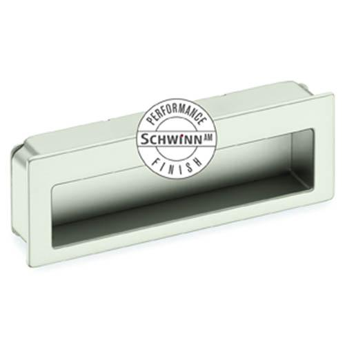 Schwinn S-59058 Flush Pulls ,  Schwinn/Anti-Microbial Finish Satin Nickel Anti-Microbial Flush Pull - KnobDepot.com
