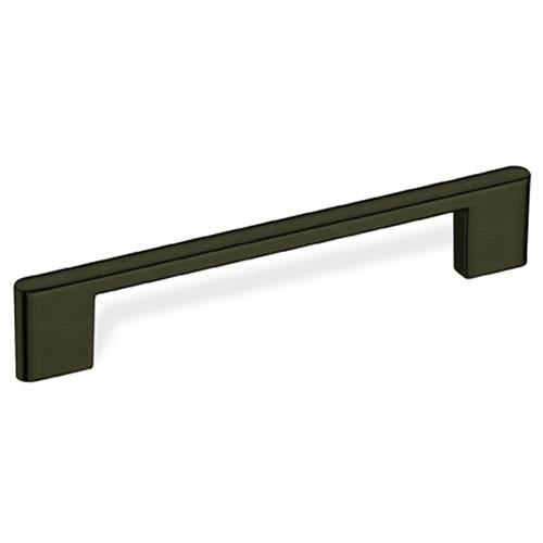 Schwinn S-59099 Square Bar Pulls Dark Nickel Square Pull - Knob Depot