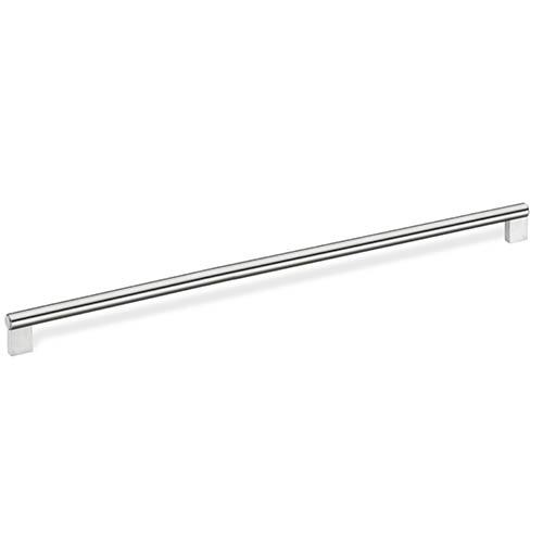 Schwinn S-59117 Round Bar Pulls - Appliance Stainless Steel Appliance Pull - KnobDepot.com