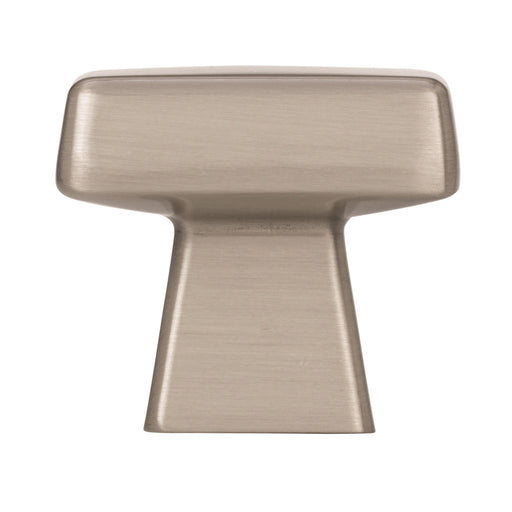 Amerock A-BP55271-G10 Blackrock Satin Nickel  Square Knob - KnobDepot.com
