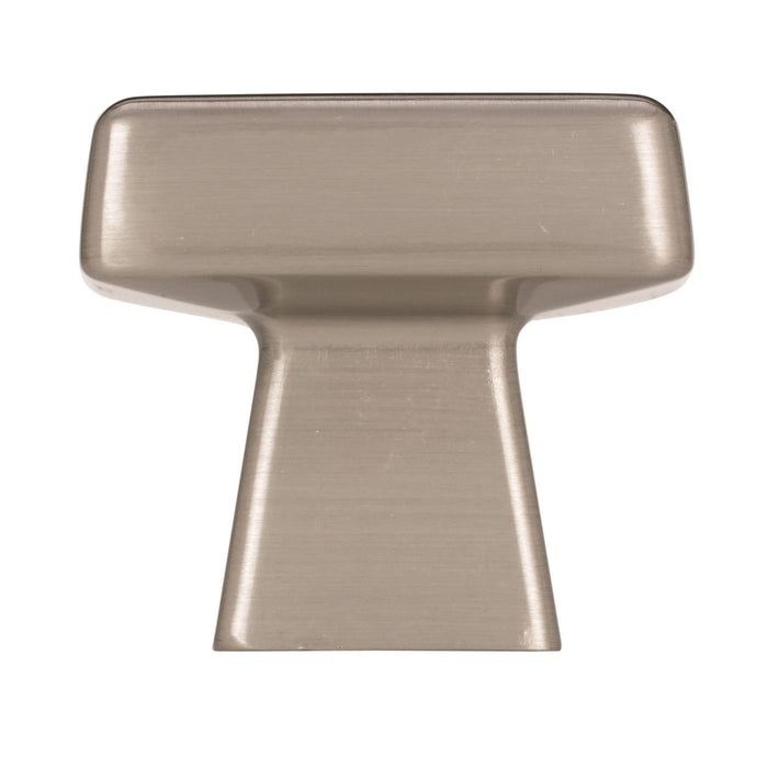 Amerock A-BP55273-G10 Blackrock Satin Nickel  Square Knob - KnobDepot.com