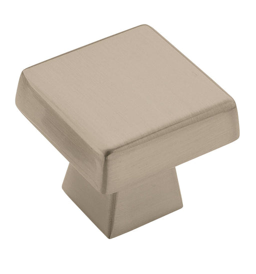 Amerock A-BP55273-G10 Blackrock Satin Nickel  Square Knob