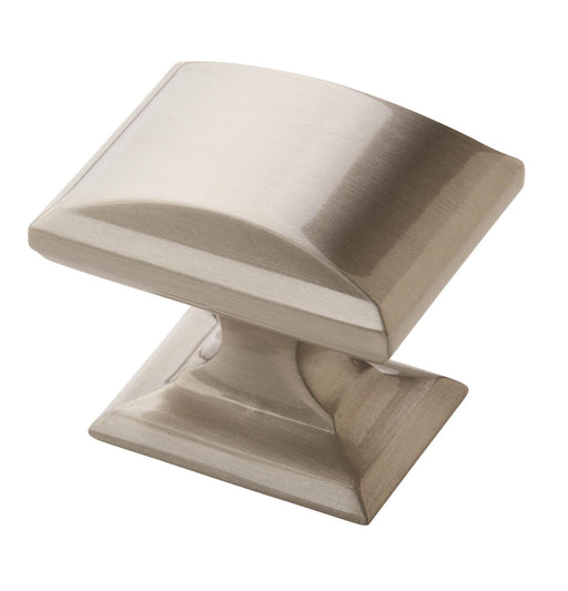 Amerock A-BP29340-G10 Candler Satin Nickel  Rectangular Knob - KnobDepot.com