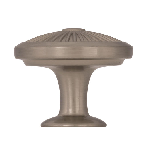 Amerock A-BP36613G10 Crawford Satin Nickel Round Knob - KnobDepot.com