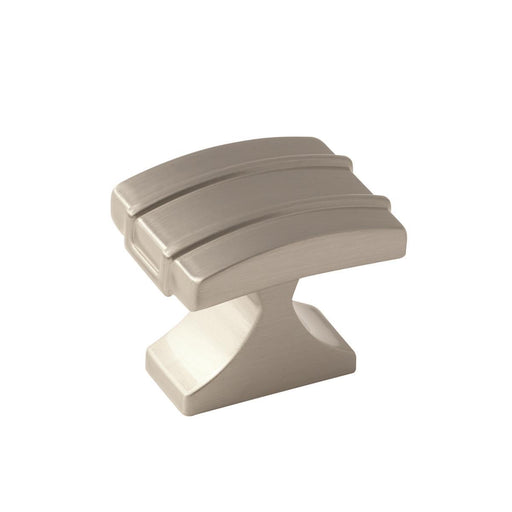 Amerock A-BP36601G10 Davenport Satin Nickel Rectangular Knob - KnobDepot.com