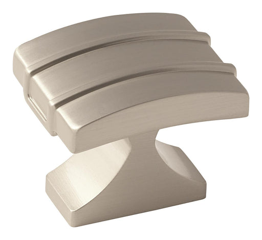 Amerock A-BP36602G10 Davenport Satin Nickel Rectangular Knob - KnobDepot.com